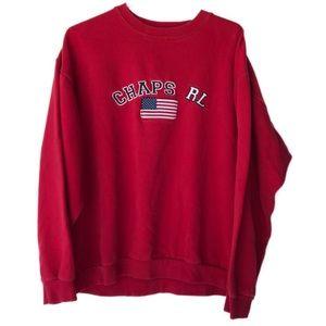 Chaps Ralph Lauren crew neck sweatshirt
